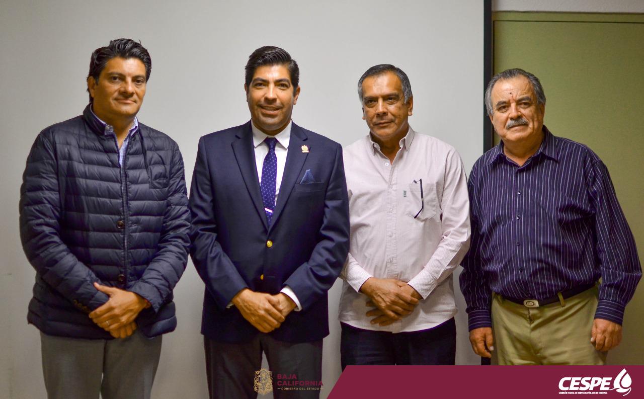 Visita del Alcalde Armando Ayala
