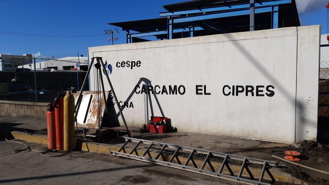 CESPE avisa la suspensión del servicio en varias colonias del Sur de la Ciudad a partir de este momento, para desasolvar el Cárcamo de El Ciprés.