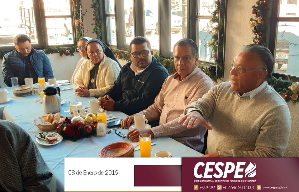 Ing. Marcelino Márquez Wong se reunió con integrantes del Consejo Estatal de Fomento a las Actividades de Bienestar y Desarrollo Social para el Estado de Baja California