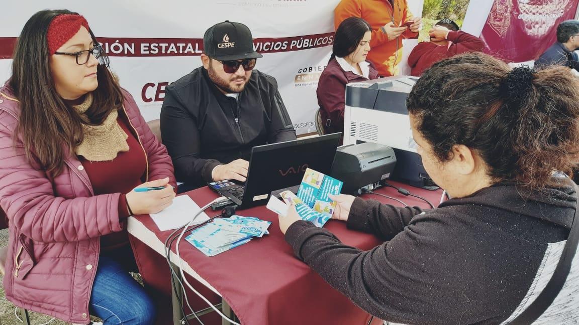 Un módulo de sub Recaudación y gerencia técnica comercial , la Comisión Estatal de Servicios Públicos de Ensenada (CESPE) forma parte de las Jornadas por La Paz