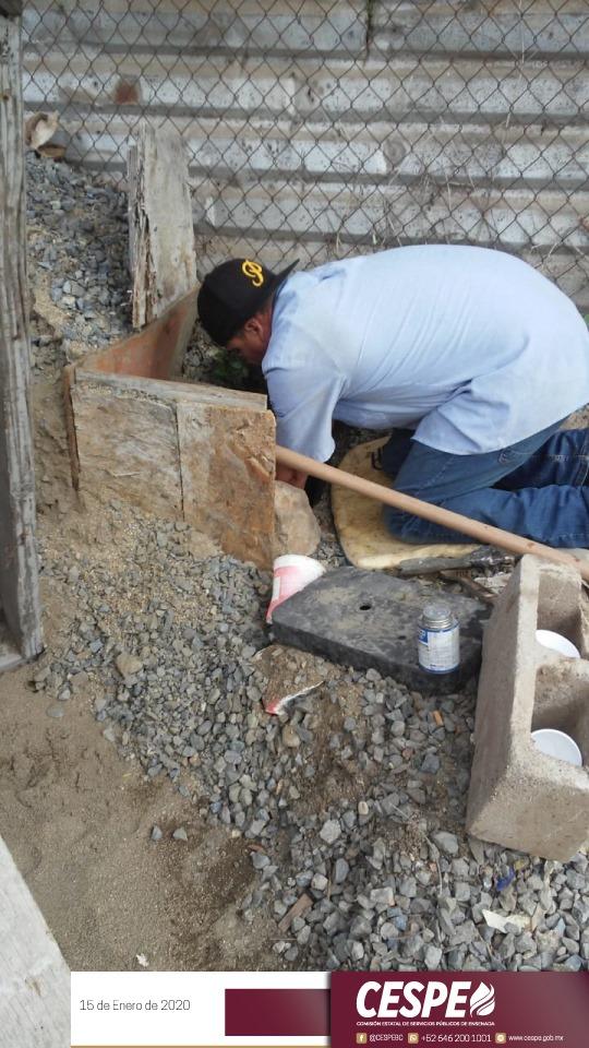 Atiende CESPE diariamente reparaciones de fugas en las redes de distribución de toda la ciudad.