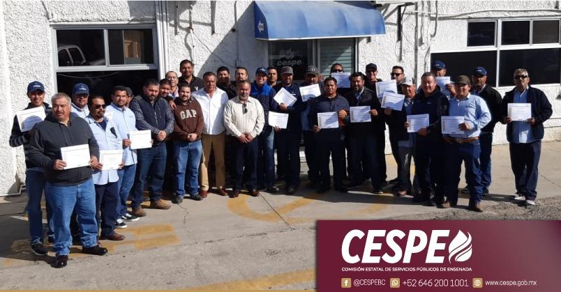 Reconoce Director General de CESPE Ing. Marcelino Márquez Wong, entrega y compromiso del personal en los trabajos del Cárcamo El Ciprés.