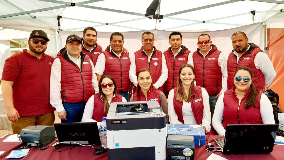 Atiende personalmente el Director General de la CESPE en las Jornadas por La Paz.
