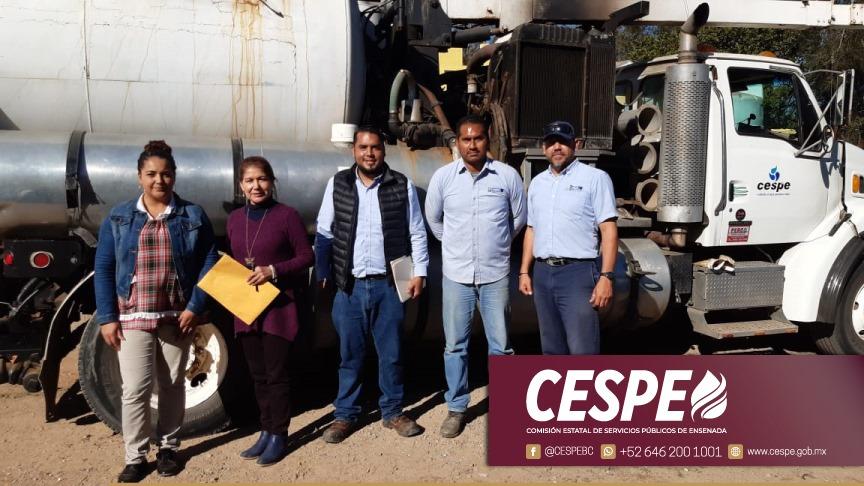 Realiza CESPE limpieza sanitaria en apoyo al Centro Escolar El Castillo. En cumplimiento al compromiso del Gobernador del Estado Ing. Jaime Bonilla Valdez.