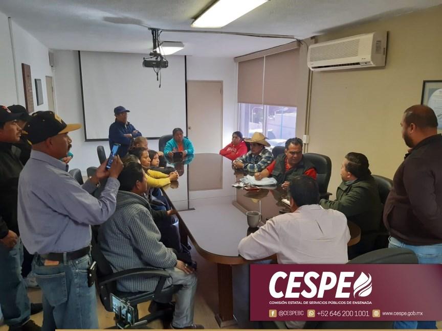 Atiende Director General de CESPE a colonos de Maneadero.