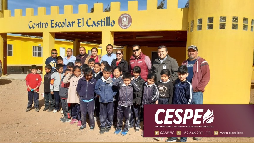 """""""El agua es vida"""", brinda CESPE el servicio a escuelas primarias de la periferia de la ciudad que carecían del vital líquido."""