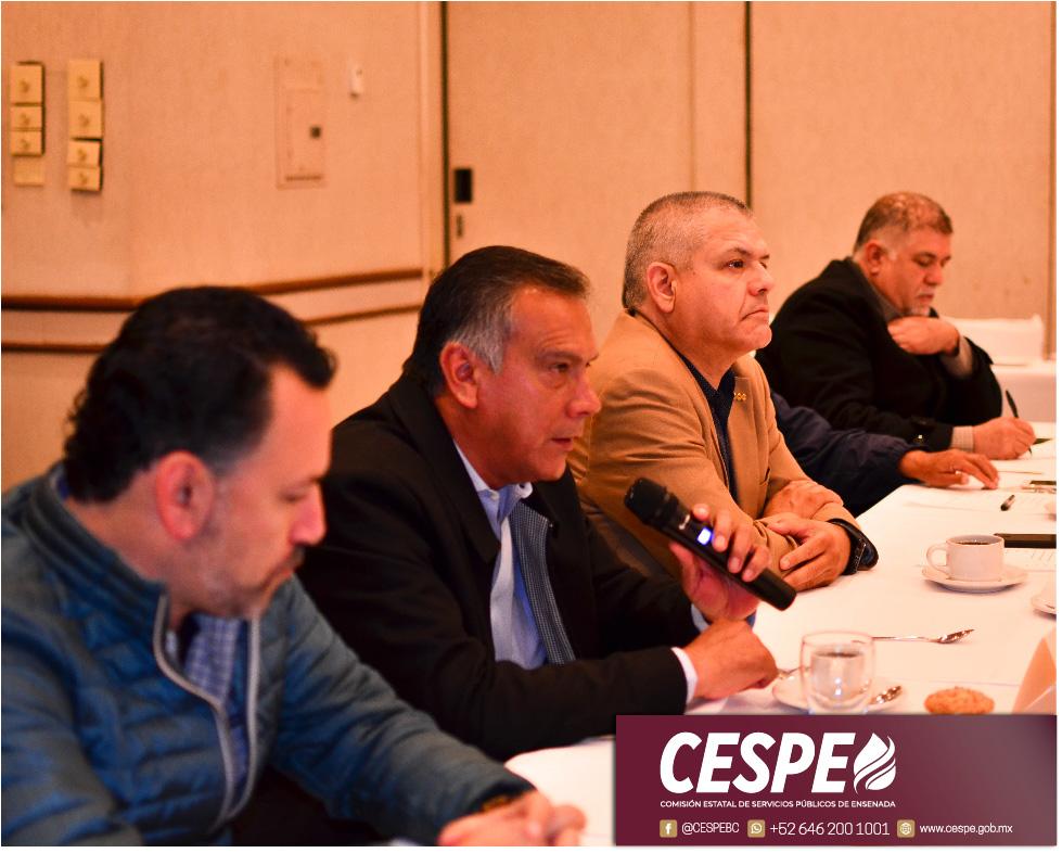 Presenta Director General de la CESPE proyecto hídrico 2020 para Ensenada ante el CCEE.