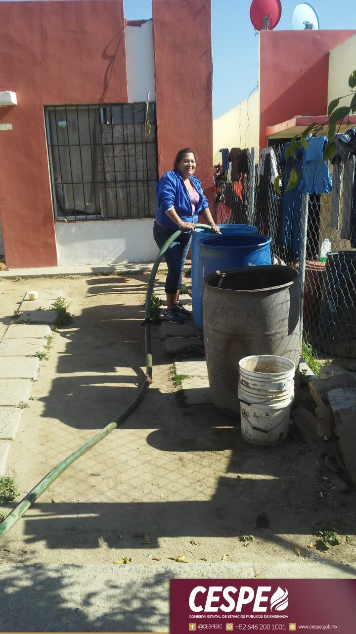 Hoy, como nunca, se ha fortalecido el Programa de Distribución en Pipas, para que a nadie le falte agua.