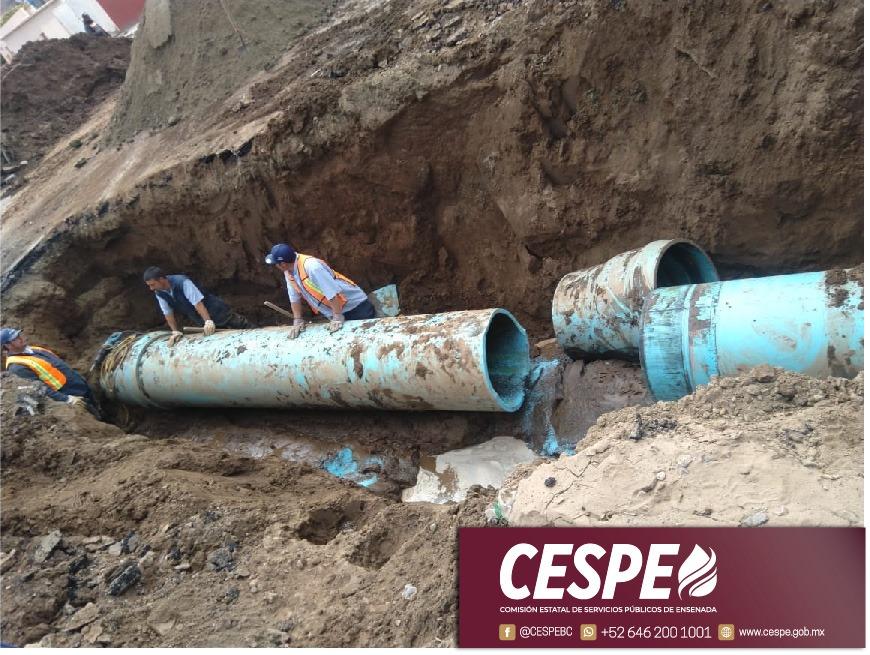 Realizar CESPE reparación en el Emisor Industrial.