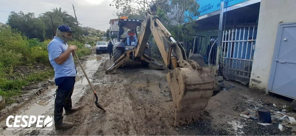 Ante la contingencia por el COVID-19, reapertura la CESPE el suministro de agua en la Colonia Sexto Ayuntamiento.