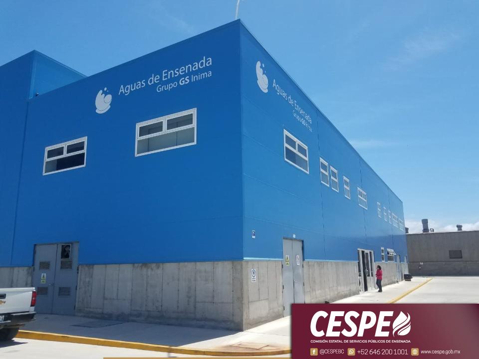 Asegura la CESPE que el agua de la desaladora no afecta la salud de los usuarios.