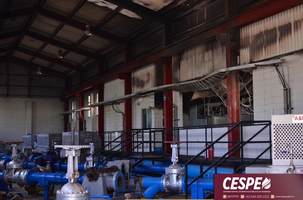 Atiende la CESPE contingencia en la Planta 87 de La Misión.