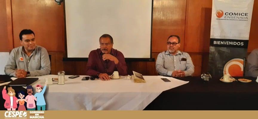 Acude Director General de la CESPE Ing. Marcelino Márquez Wong como invitado del COMICE.