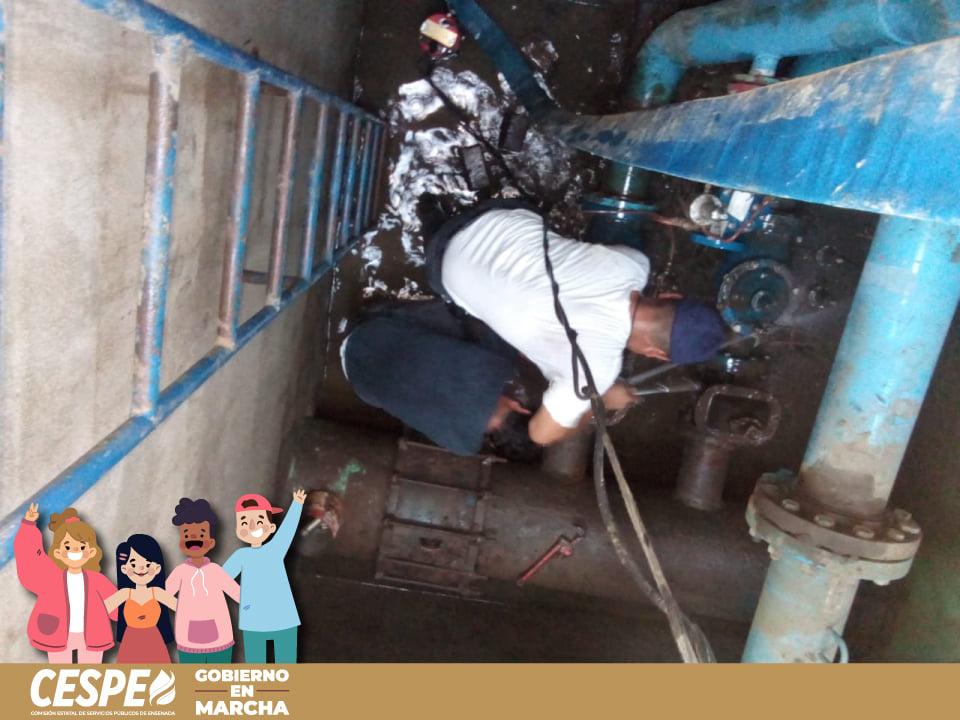 En Marcha los trabajos de retiro de válvula en compuerta dañada sobre la Línea 3.