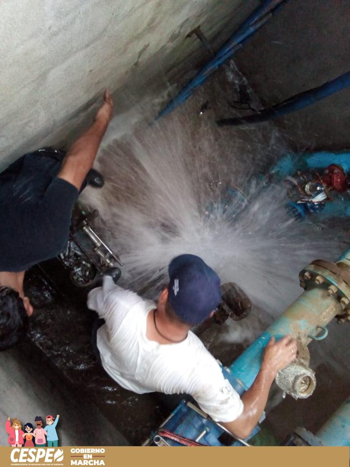 En operación la Línea 3, concluyó la reparación a las 2:00 A.M. e inició la etapa de carga de agua.