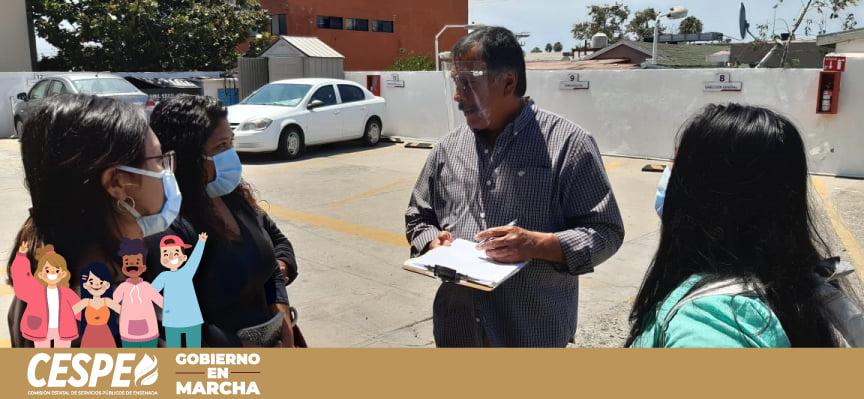 Atiende Director General de la CESPE Ing. Marcelino Márquez Wong a residentes de Maneadero.