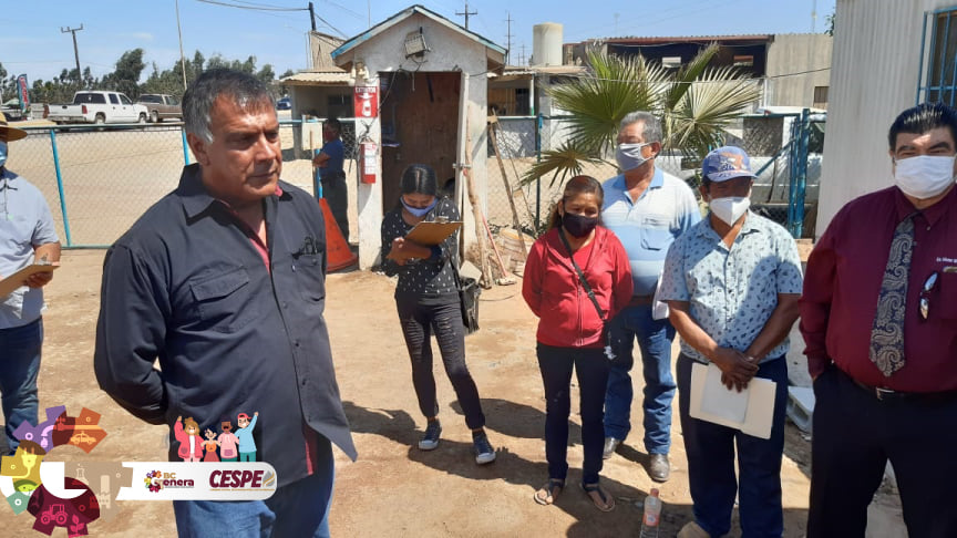 Se reúne Director General de la CESPE Ing. Marcelino Márquez Wong con líderes de los pueblos originarios de la comunidad de San Quintín.