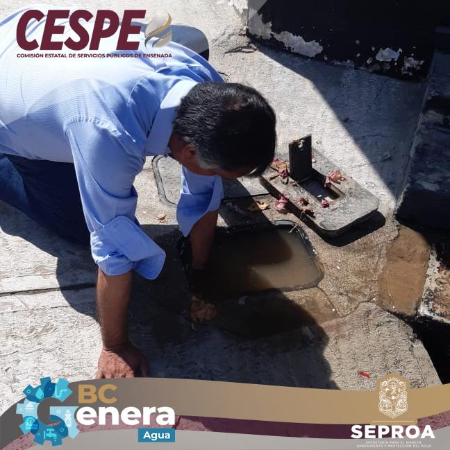 Supervisa el Director General de la #CESPE; atención y reparación inmediata de fugas en la ciudad.