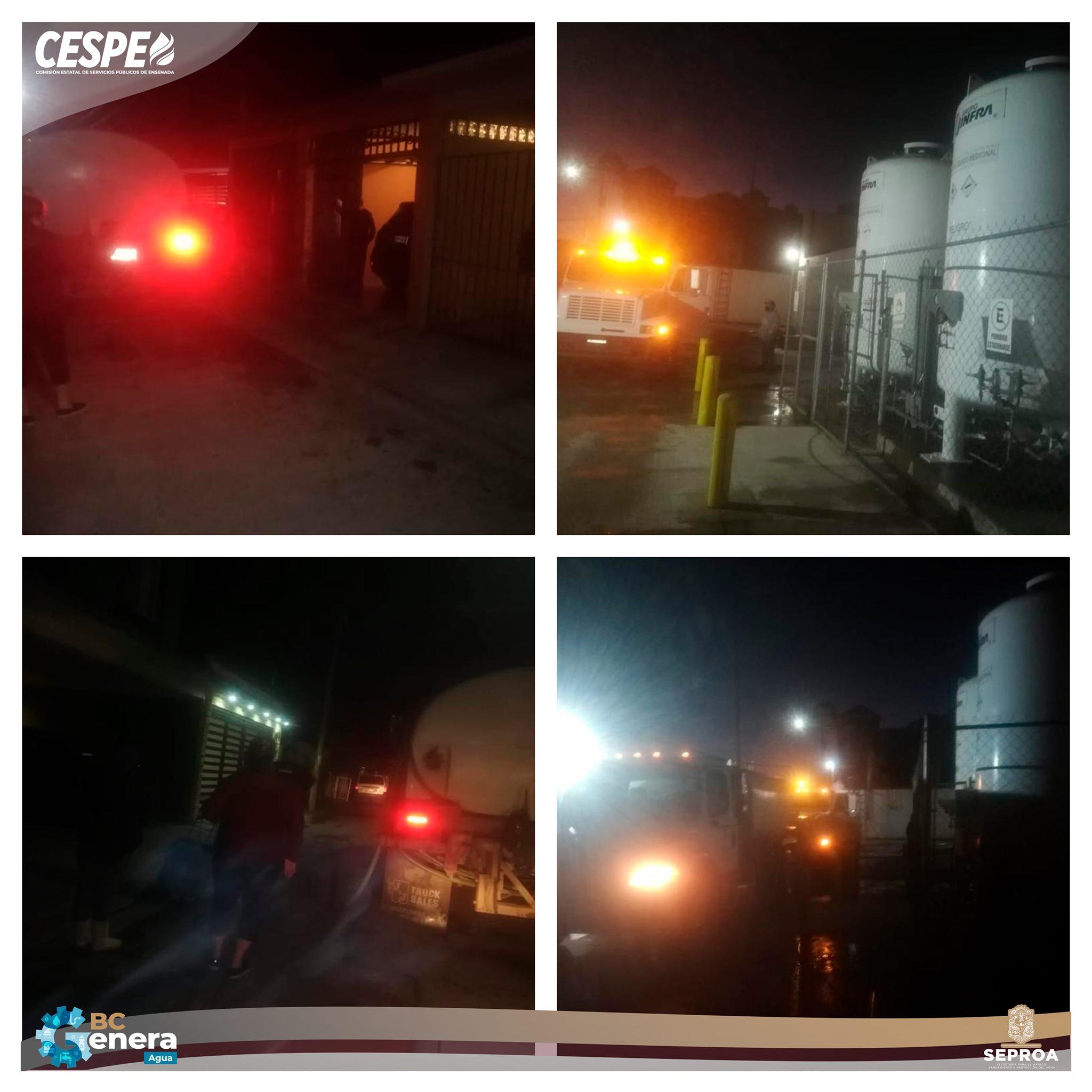 Continúa la CESPE atendiendo abastecimiento de agua en pipas en las colonias afectadas por la suspensión de operación de los Tanques #ValleDorado.