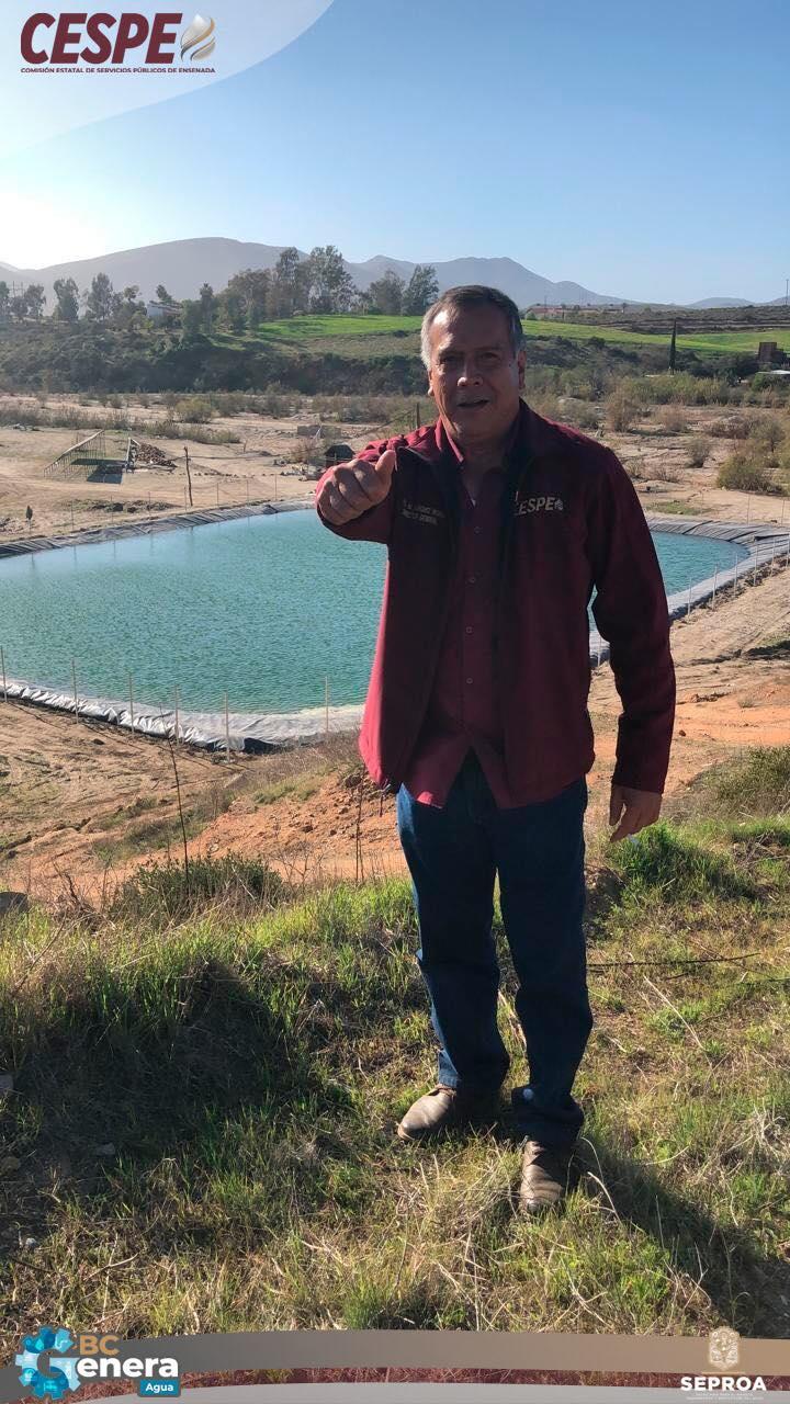 Con el reservorio de San Vicente, SEPROA-CESPE cumple compromisos de suficiencia hídrica para esta comunidad.